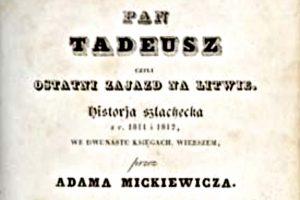 """Konkurs recytatorski dla młodzieży """"Pan Tadeusz"""""""