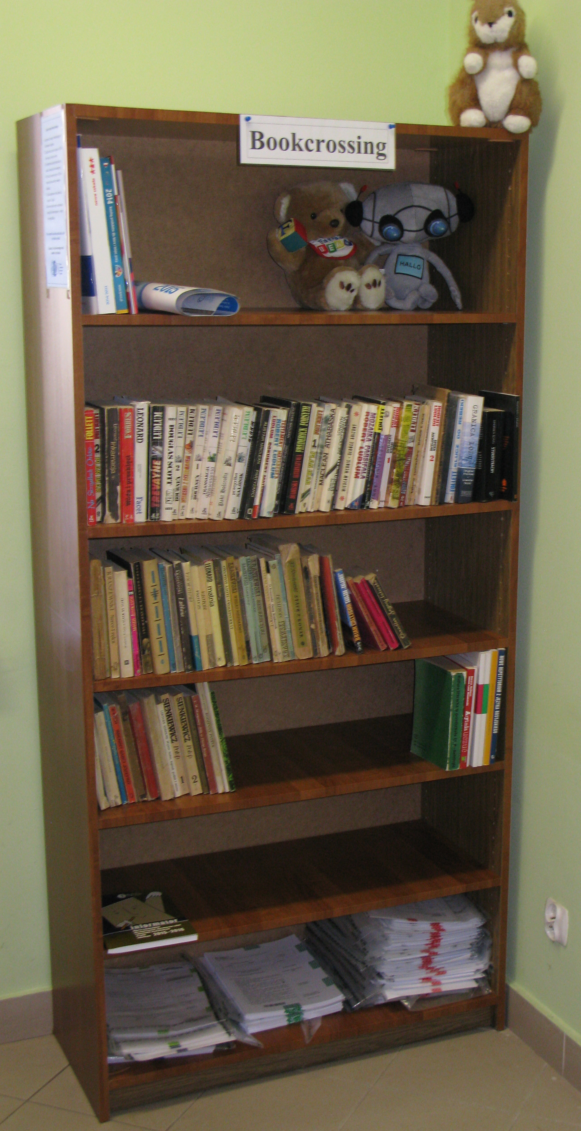 Read more about the article Bookcrossing wnaszym Ośrodku