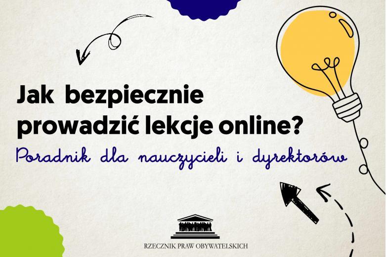Jak bezpiecznie prowadzić lekcje online?